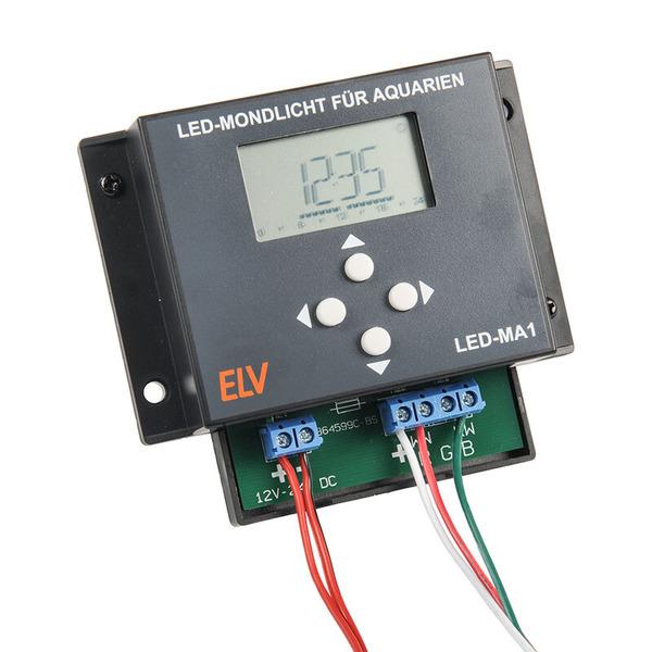 ELV Komplettbausatz LED-Mondlicht für Aquarien LED-MA1