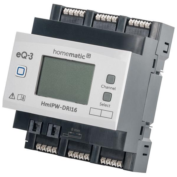 Homematic IP Wired 16-fach-Eingangsmodul HmIPW-DRI16, VDE zertifiziert