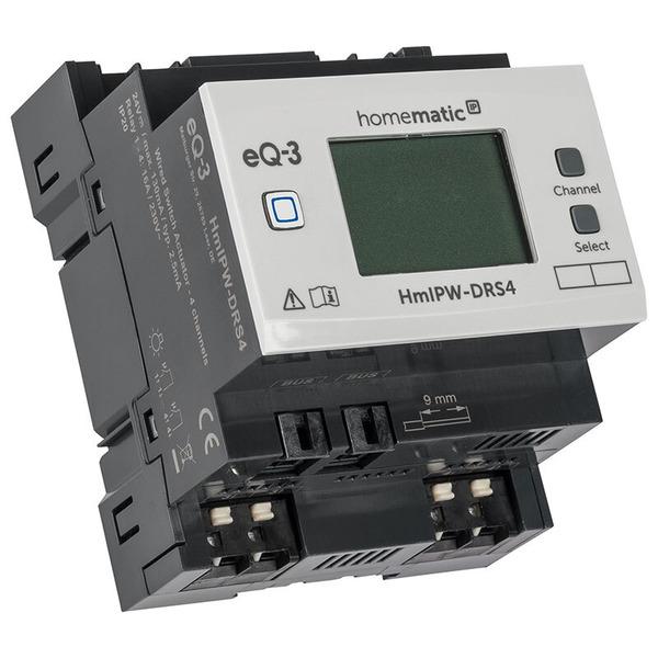 Homematic IP Wired 4-fach-Schaltaktor HmIPW-P-DRS4