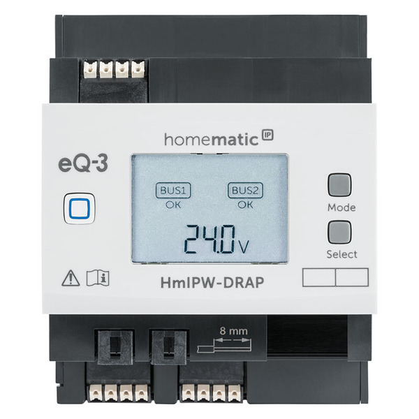 Homematic IP Wired Access Point HmIPW-DRAP, VDE zertifiziert