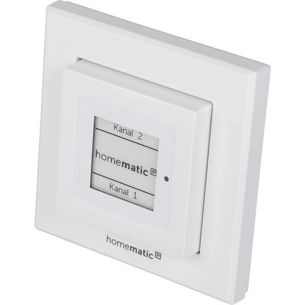 Homematic IP Wandtaster mit E-Paper-Statusdisplay HmIP-WRCD