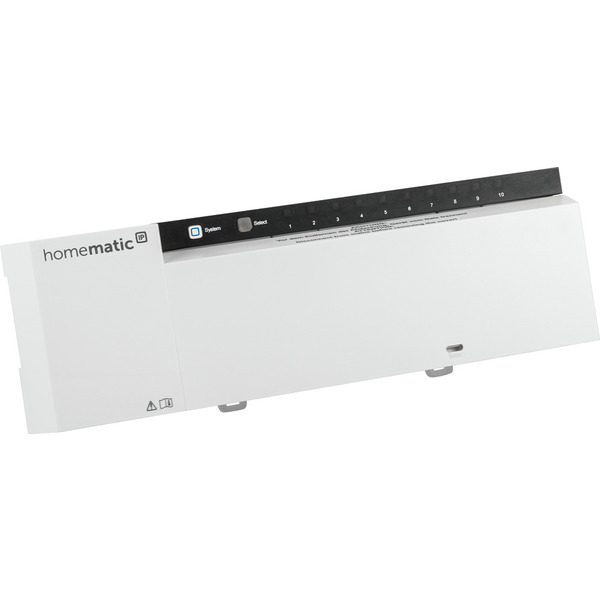Homematic IP Wired Fußbodenheizungsaktor HmIPW-FAL230-C10 – 10-fach, 230 V