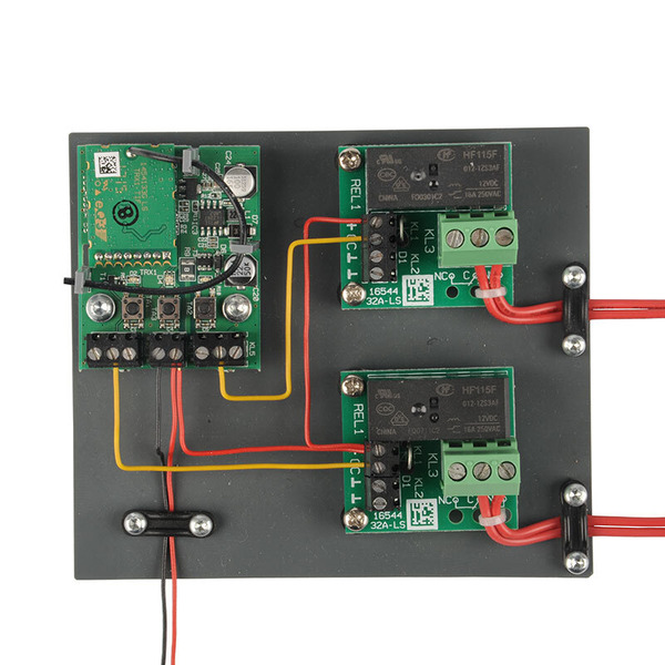 ELV Homematic IP Komplettbausatz Schaltplatine - 2-fach HmIP-PCBS2, für Smart Home / Hausautomation