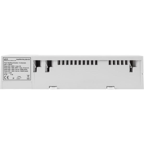 Homematic IP Wired Fußbodenheizungsaktor HmIPW-FAL230-C6 – 6-fach, 230 V