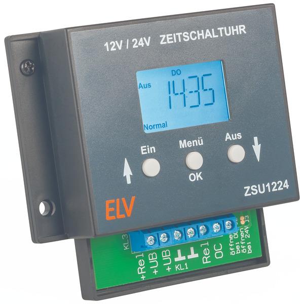 ELV Bausatz Zeitschaltuhr ZSU1224