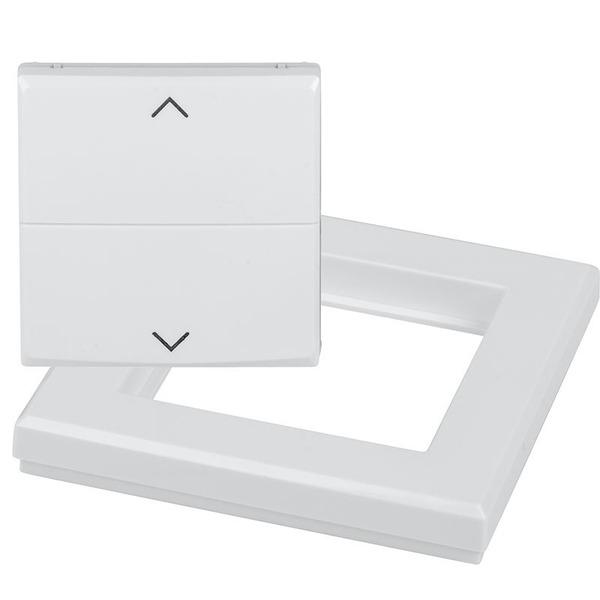 Homematic IP Smart Home Tasterwippe für Markenschalter HmIP-BRA - mit Pfeilen