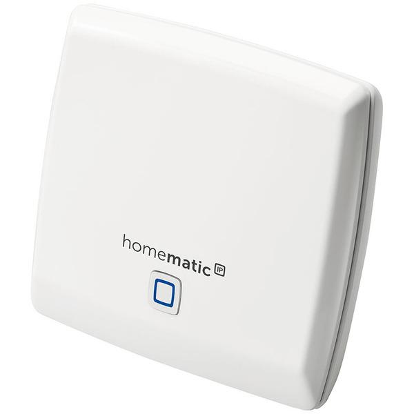 Homematic IP Starter Set Alarm mit Access Point, Alarmsirene, Fenster-/Türkontakt, Bewegungsmelder
