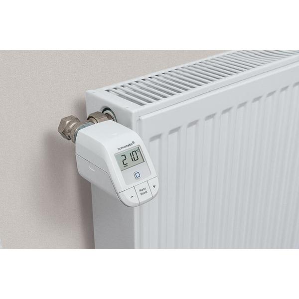 Homematic IP Smart Home Set Heizen - easy connect, Heizkörperthermostat und Fenster- und Türkontakt