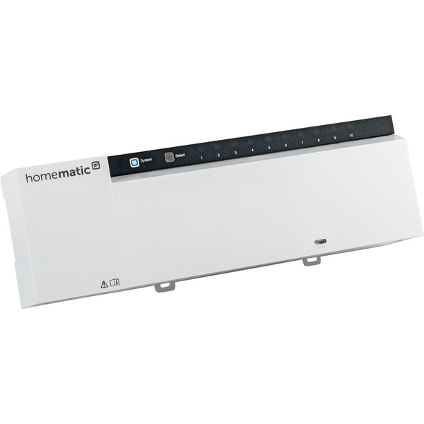 Homematic IP Wired Fußbodenheizungsaktor HmIPW-FAL24-C10 – 10-fach, 24 V