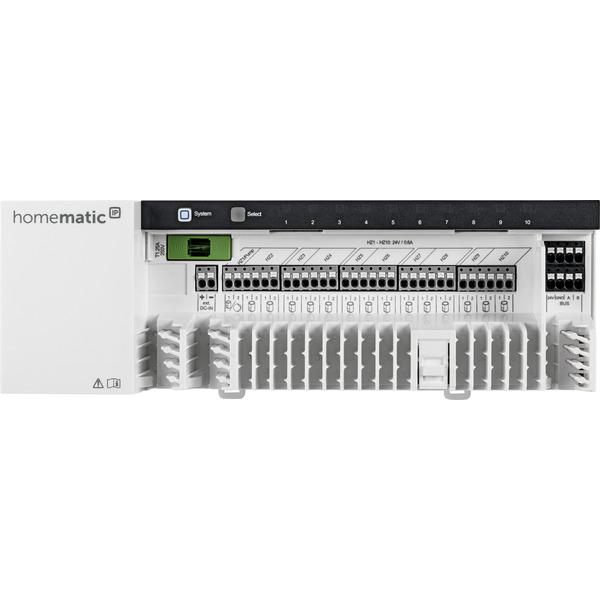 Homematic IP Wired Fußbodenheizungsaktor HmIPW-FAL24-C10 – 10-fach, 24 V
