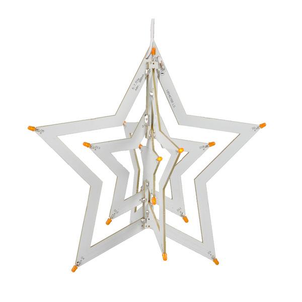 ELV Komplettbausatz LED-Weihnachtsstern 2 LED-WS2