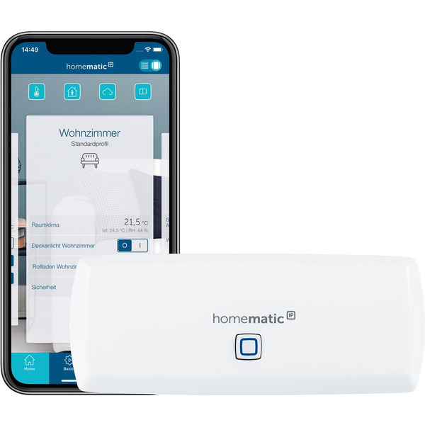 Homematic IP WLAN Access Point HmIP-WLAN-HAP für Smart Home / Hausautomation