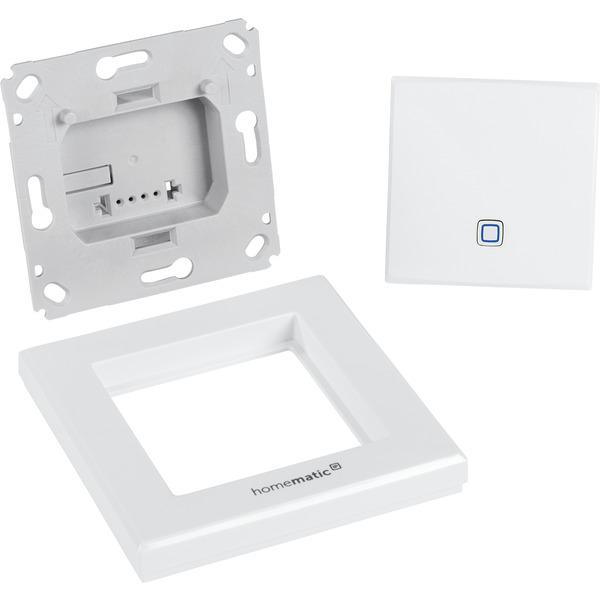 Homematic IP Wired Smart Home Temperatur- und Luftfeuchtigkeitssensor HmIPW-STH – innen