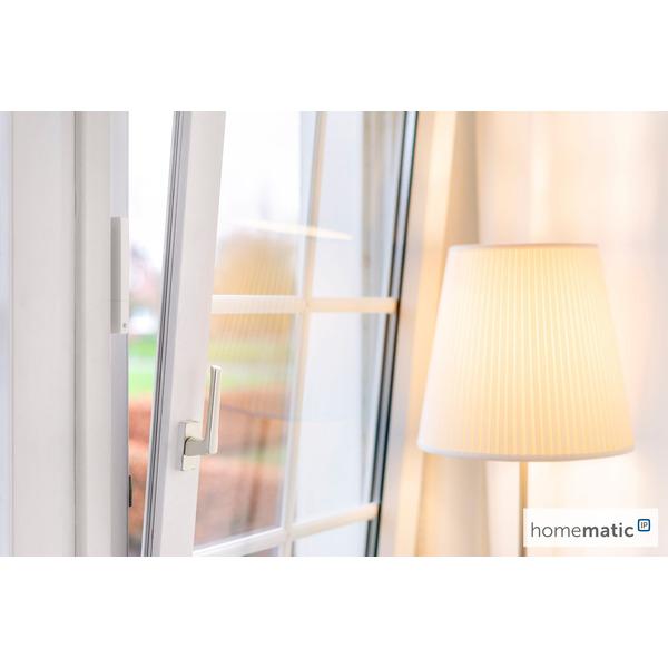 Homematic IP Smart Home Fenster- und Türkontakt plus HmIP-SWDO-PL, optisch