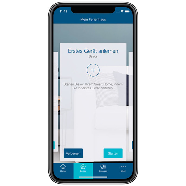 Homematic IP Smart Home Fenster- und Türkontakt plus HmIP-SWDO-PL, optisch