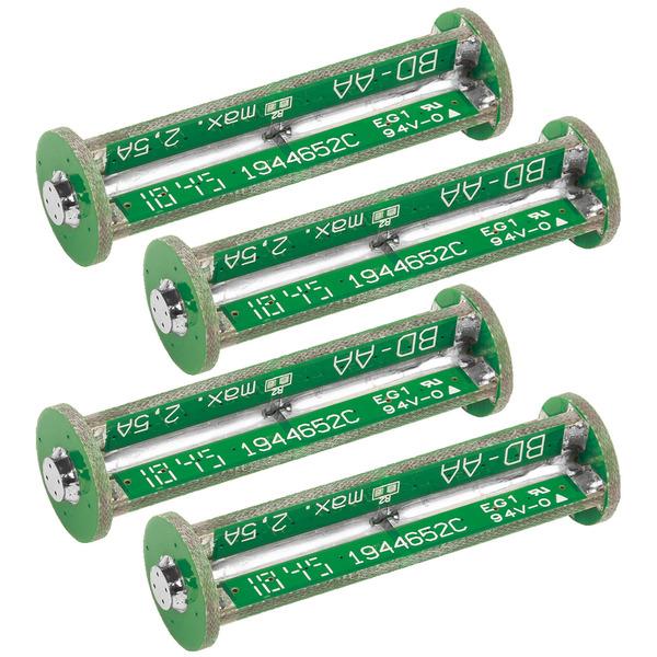 ELV  Komplettbausatz Batterie-Dummy-Set BD-AA, 4x Mignon
