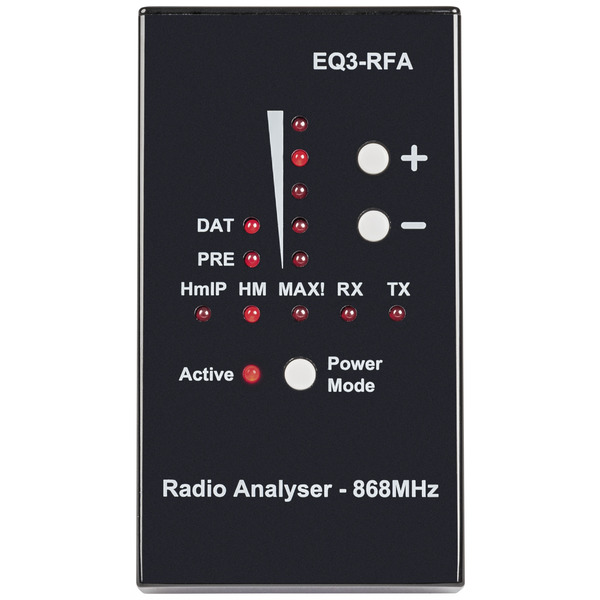 ELV Funk-Analyser EQ3-RFA, 868MHz für Homematic IP, Homematic und MAX!