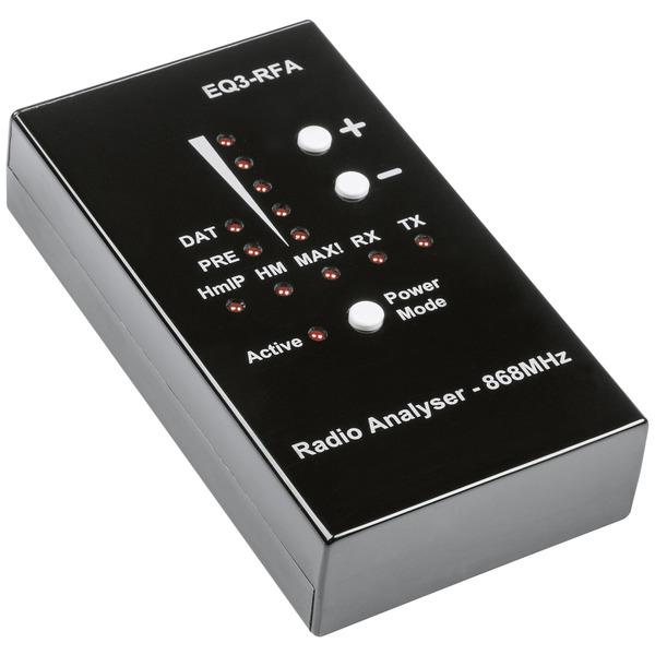ELV Funk-Analyser EQ3-RFA, 868MHz für Homematic IP, Homematic und MAX!