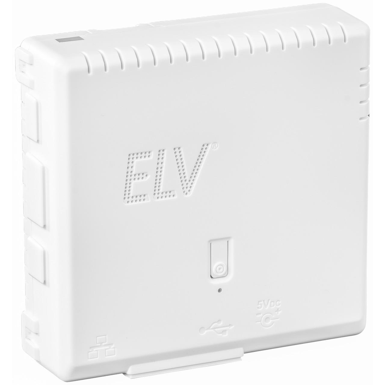 ELV Bausatz Gehäuse RP-Case für Raspberry Pi und RPI-RF-MOD Funk-Modulplatine- weiss