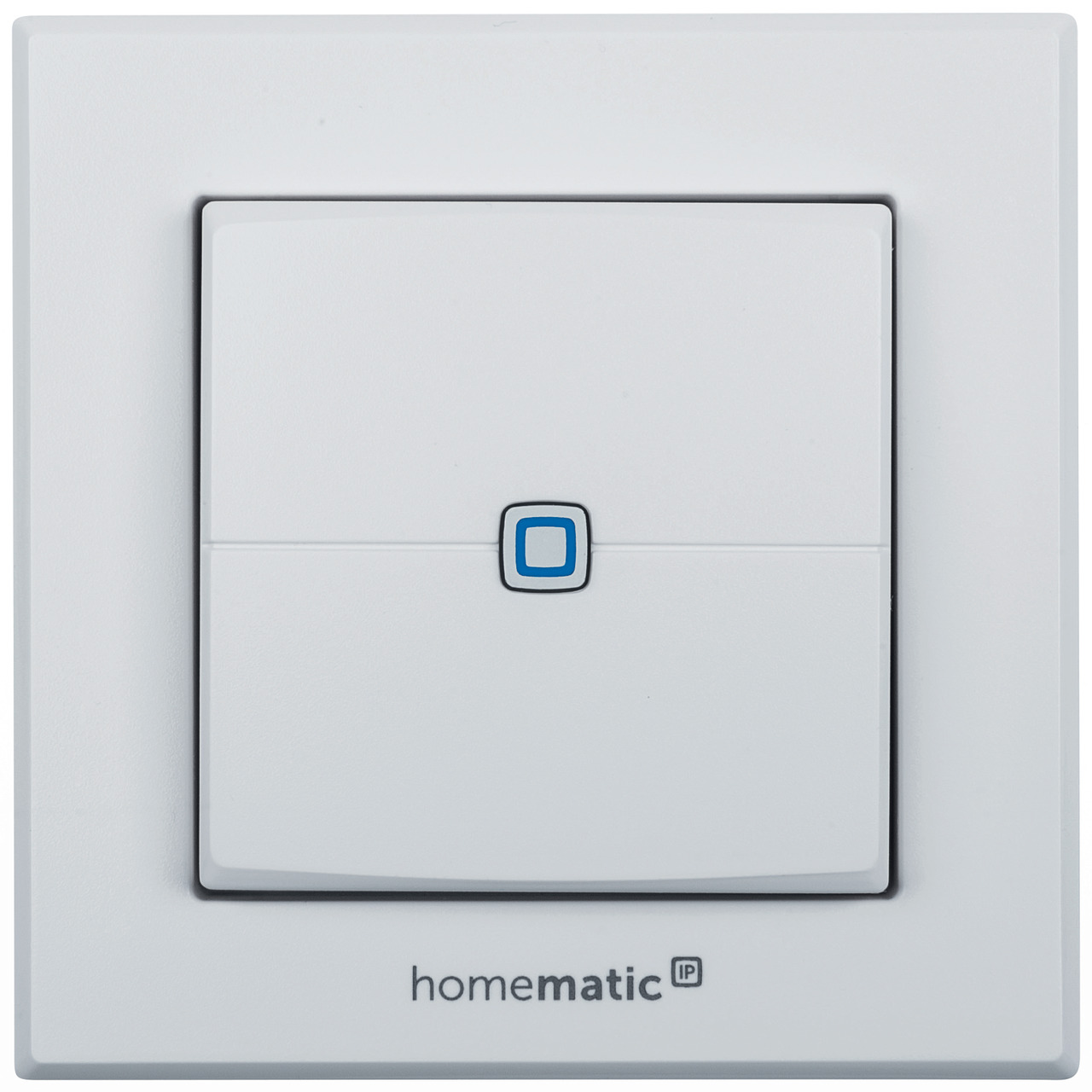 ELV Homematic IP Komplettbausatz Wandtaster HMIP-WRC2- 2-fach für Smart Home - Hausautomation