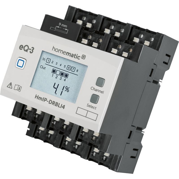 Homematic IP Funk-Jalousieaktor für Hutschienenmontage HmIP-DRBLI4, 4-fach