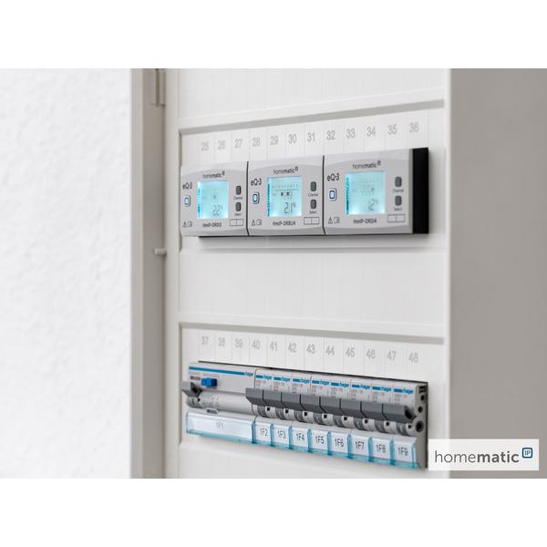 ELV Homematic IP Bausatz Funk-Jalousieaktor für Hutschienenmontage HmIP-K-DRBLI4, 4-fach