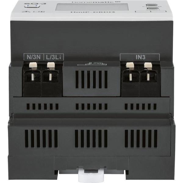 Homematic IP Funk-Dimmaktor für Hutschienenmontage, HmIP-DRDI3, 3-fach