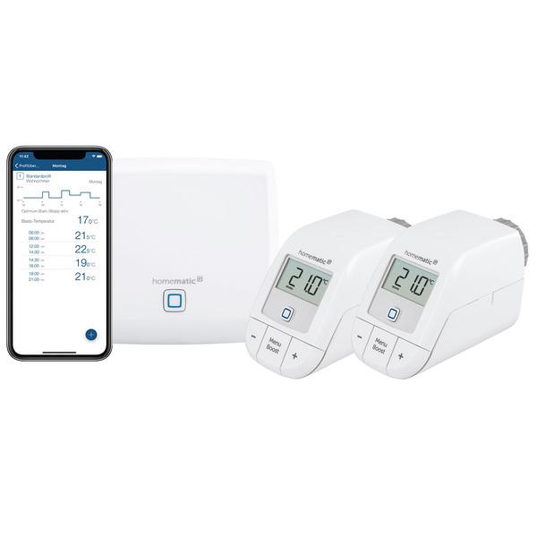 Homematic IP Starter Set Heizen mit Access Point und 2x Heizkörperthermostat