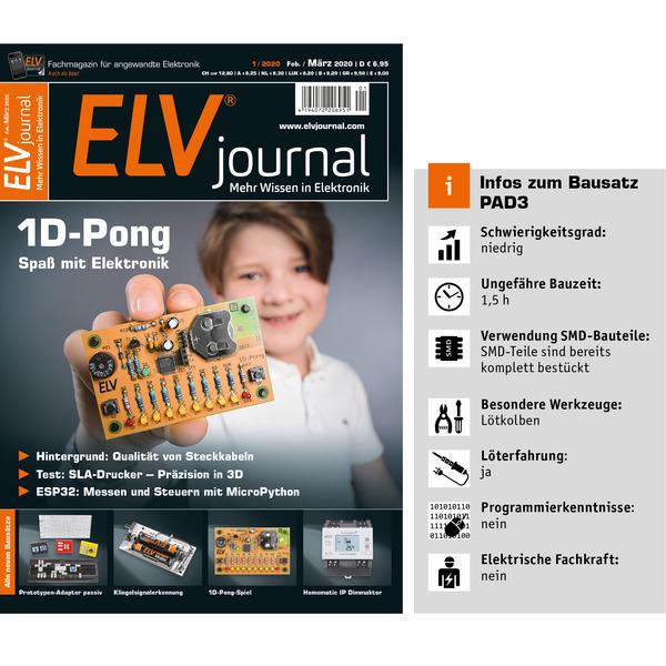 ELV Bausatz Prototypenadapter für Steckboards PAD3, passiv