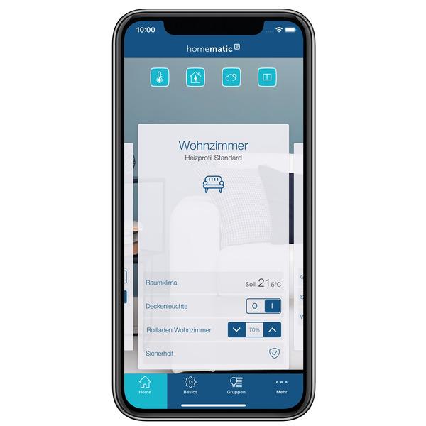 Homematic IP Smart Home Heizkörperthermostat Evo HmIP-eTRV-E