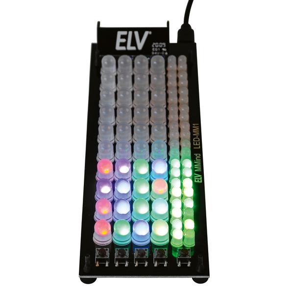ELV Komplettbausatz Denkspiel MMind LED-MM1