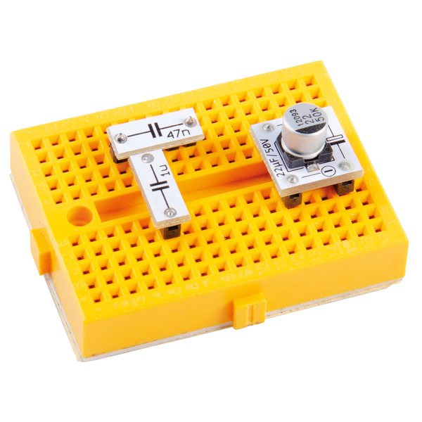 ELV Aufbewahrungsbox mit Kondensatoren und ELKOs PAD-PRO-K1, 275 Teile