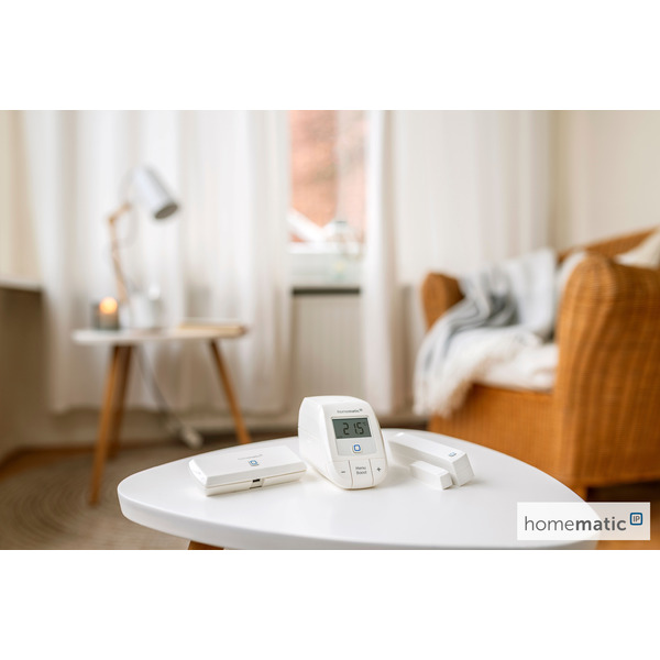 Homematic IP Smart Home Starter Set Raumklima - WLAN HmIP-SK12, mit WLAN Access Point