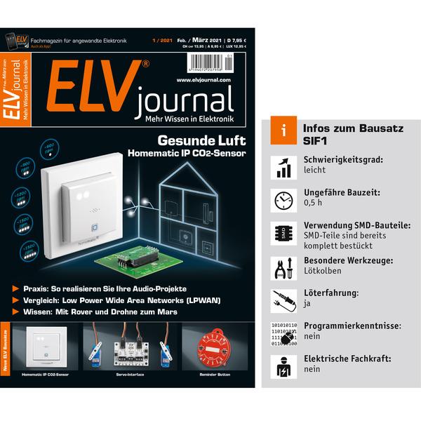 ELV Bausatz Servo-Interface SIF1
