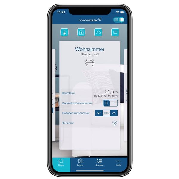 Homematic IP Smart Home Starter Set Beschattung – WLAN, HmIP-SK15