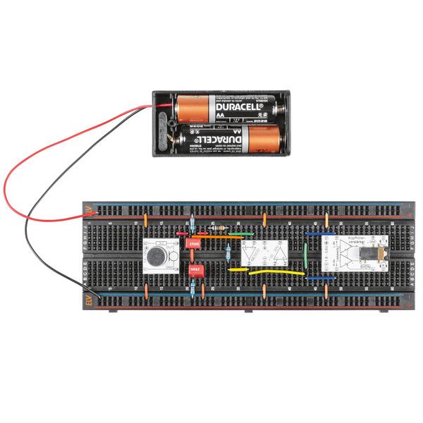 ELV Bausatz Prototypenadapter für Steckboards PAD7, Audio