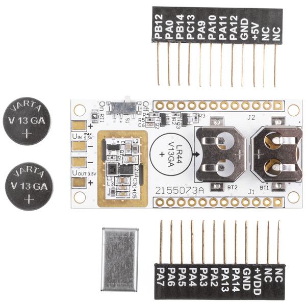 LoRIS ARR-Bausatz LR44-Powermodul LoRIS-Buttoncell, LoRIS-PM-BC