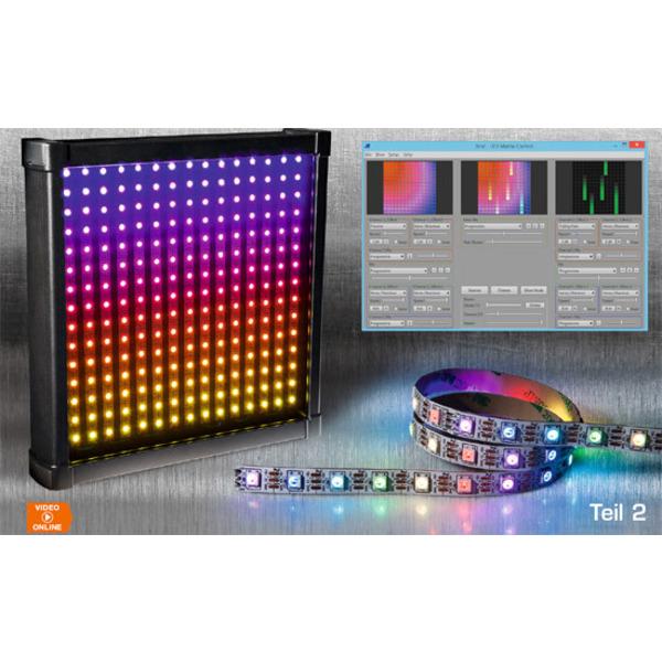 LEDs mit Intelligenz – RGB-LED-Matrix mit WS2812B Teil 2