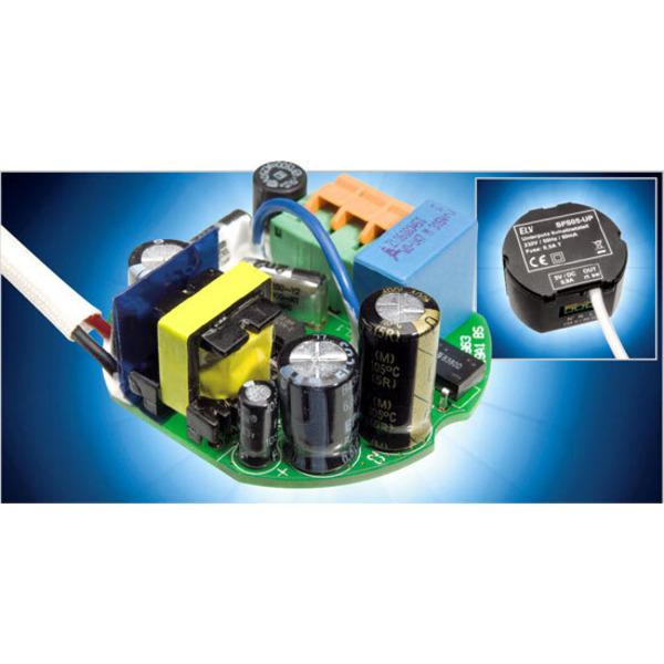 5-V-Schaltnetzteil für Unterputz-Montage SPS05-UP