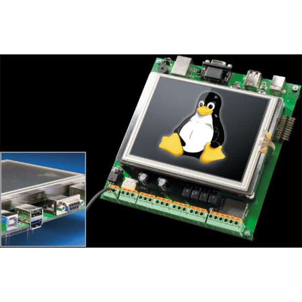 Universal-embedded Linux-Plattform - Linux-Control-Unit LCU 1 Teil 2/3