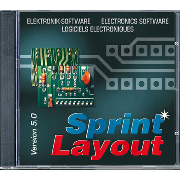 Im Sprint zum eigenen Layout - Platinenlayout-Programm Sprint-Layout 5.0