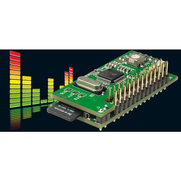 Musik im Mini-Format - MP3-Soundmodul MSM 2