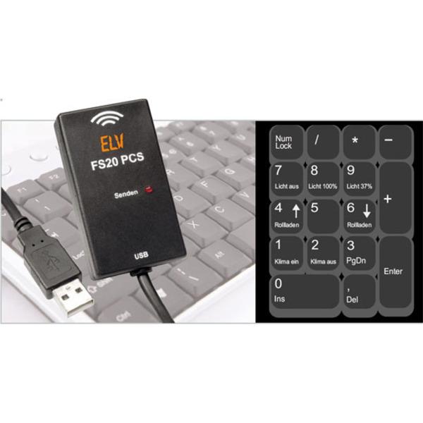 PC steuert FS20-Empfänger – FS20-PC-Sender