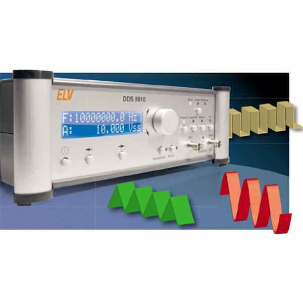 10-MHz-DDS-Funktionsgenerator DDS 8010 Teil 1/3
