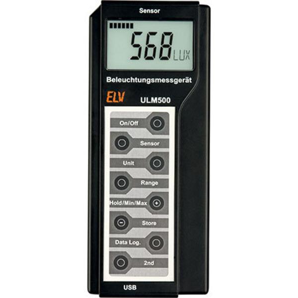 Lichttechnische Größen richtig messen - Beleuchtungsmessgerät ULM 500 Teil 3/4