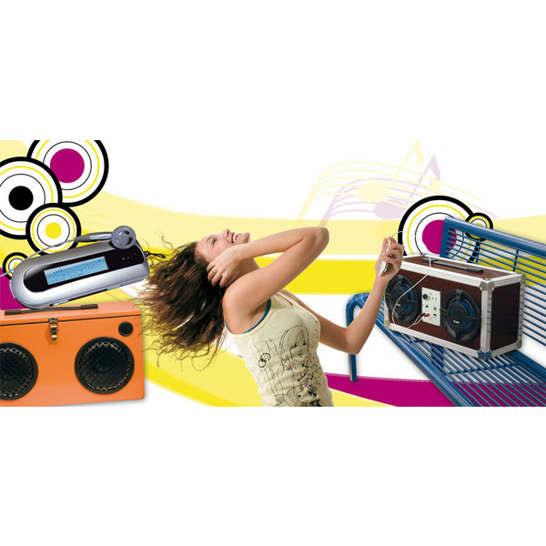 Mobiler Sound – Musikbox MB 100 Teil 1/3