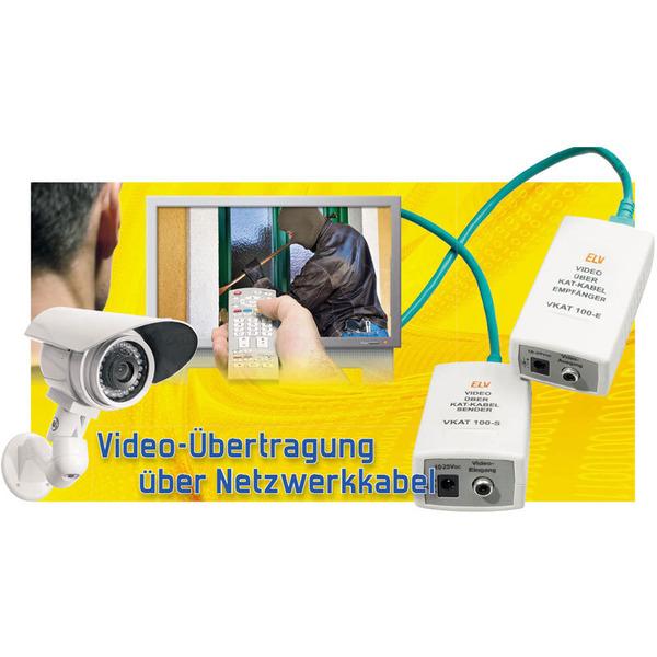Video-Übertragung über Netzwerkkabel VKAT 100