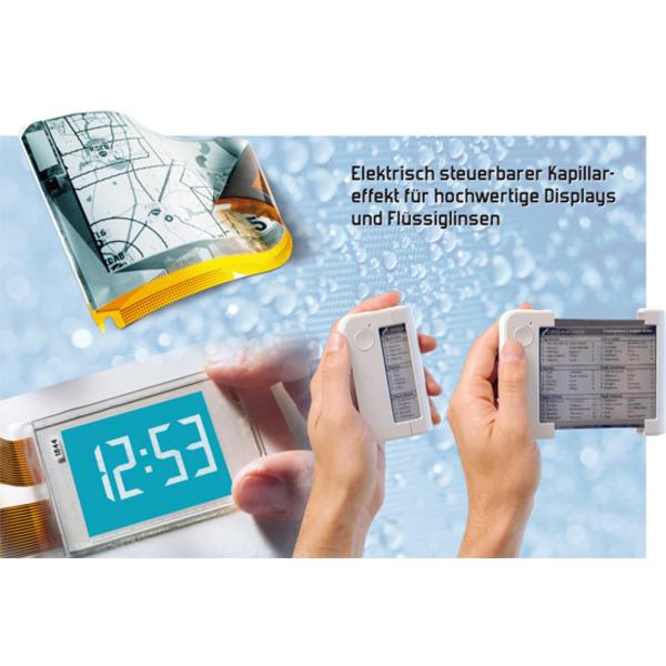 Electrowetting - altes Prinzip in neuen Anwendungen Teil 1/2