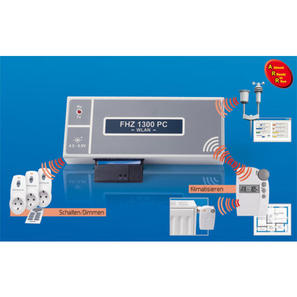 PC-Funk-Hauszentrale FHZ 1300 - Steuert, regelt, schaltet, signalisiert, warnt... Teil 1/2
