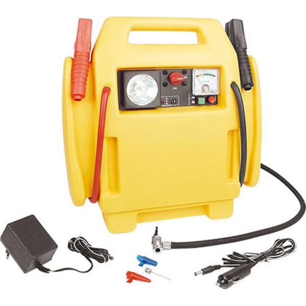 Starthilfe-Gerät mit Kompressor